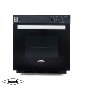Horno a gas empotrable Haceb de color Negro